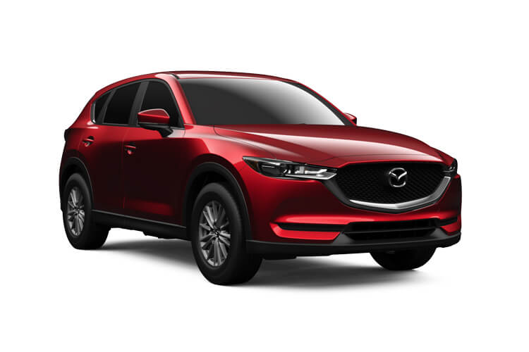 Mazda CX-5 SUV 4wd 2.2 SKYACTIV-D 184PS Sport 5Dr Auto [Start Stop] front view