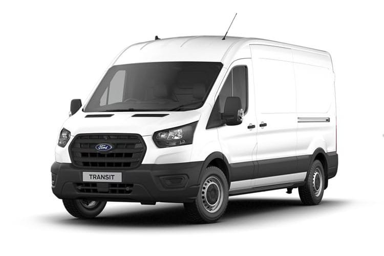 Ford Transit 330 L3 2.0 EcoBlue FWD 105PS Leader Van High Roof Manual [Start Stop] front view