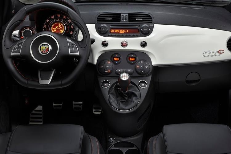 Abarth 595 C Cabrio 1.4 T-Jet 165PS Turismo 2Dr Auto inside view