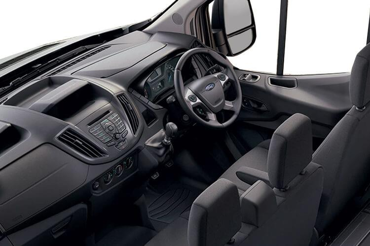 Ford Transit 350HD L3 RWD 2.0 EcoBlue DRW 170PS Leader Luton Auto [Start Stop] inside view