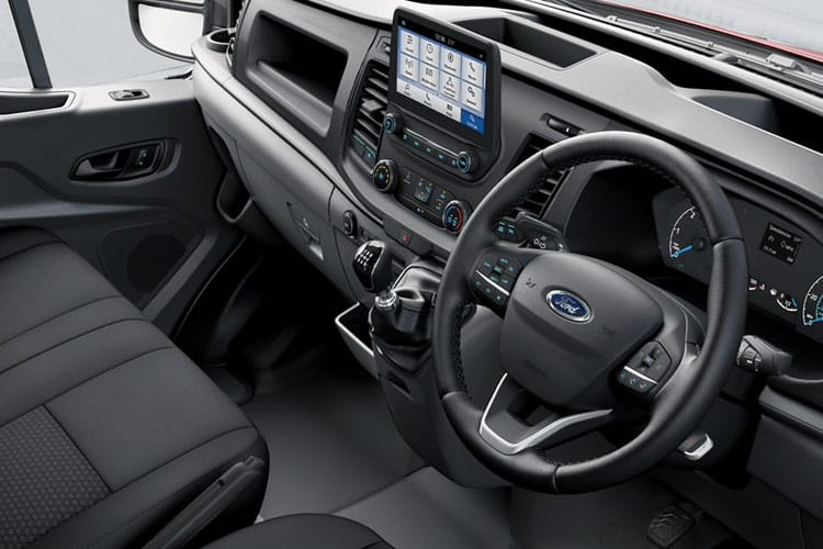 Ford Transit 350HD L5 RWD 2.0 EcoBlue DRW 170PS Leader Premium Dropside Auto [Start Stop] inside view