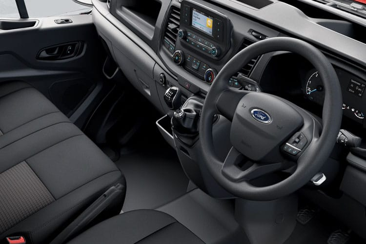 Ford Transit 350 L5 DRW 2.0 EcoBlue DRW 130PS  Chassis Double Cab Manual [Start Stop] inside view