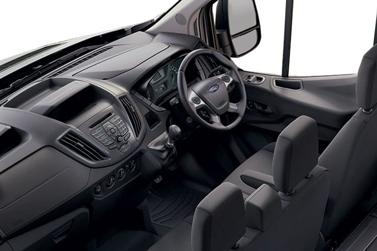 Ford Transit 350 L4 RWD 2.0 EcoBlue RWD 170PS Leader Premium Dropside Double Cab Manual [Start Stop] inside view